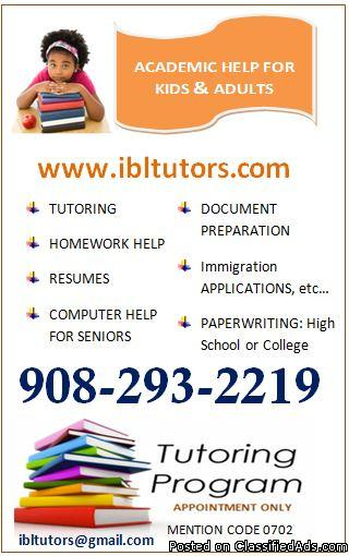 FREE 1 hr Math Tutoring (Grades 2-6 Tutoring in Union NJ)