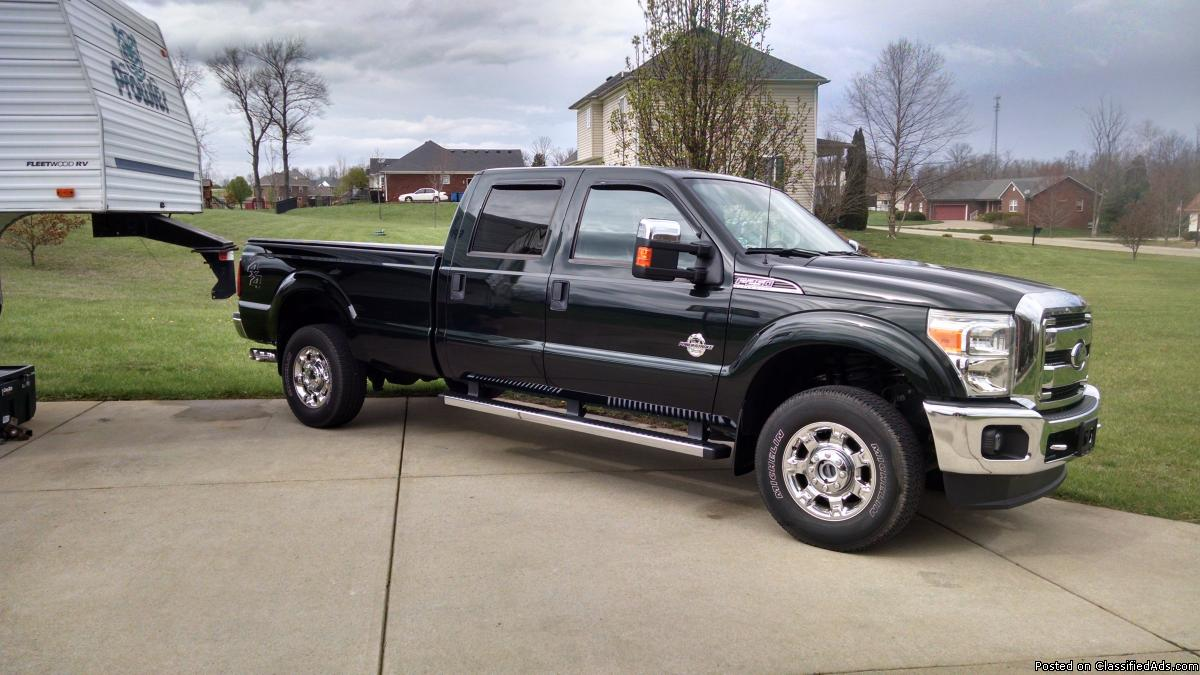 2015 Ford F-250 Super Duty Crew Cab XLT 6.7 Turbo Diesel 4X4