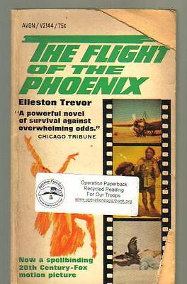 The Flight of the Phoenix by Elleston Trevor (1966 Avon Paperback)