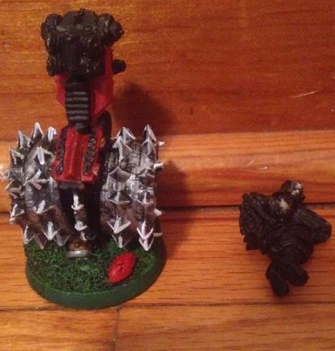 OOP Citadel Blood Bowl Dwarf Deathroller Warhammer