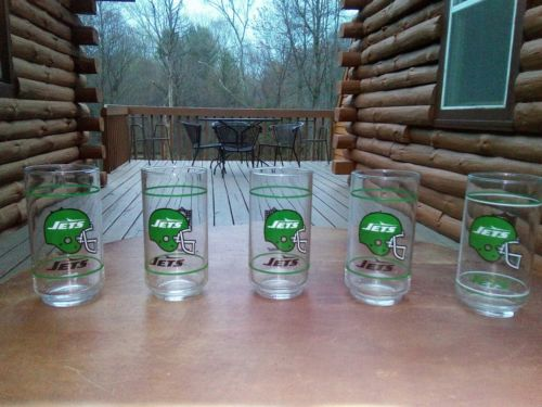 NFL Jets Collectors Glasses