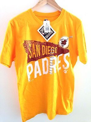 BRAND NEW Men's San Diego Padres Cooperstown Coll Medium T-Shirt! FREE SHIPPING!