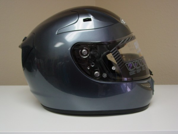 New HJC RPHA-10 Pro Anthracite Grey Snell Full Face Street Motorcycle Riding Race Helmet Medium
