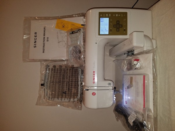 Singer Studio S10 Embroidery Machine