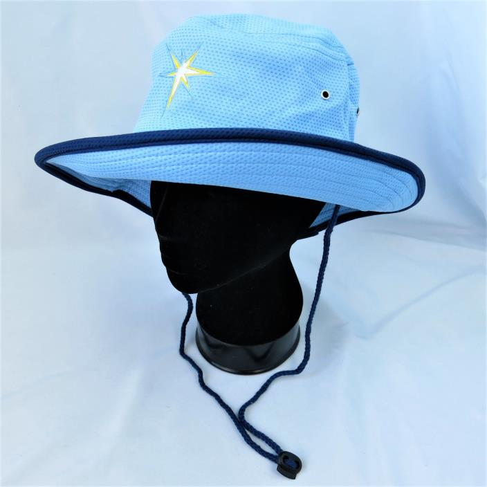 Mesh Bucket Hat Drive Sober or Get Pulled Over Tampa Bay Rays Blue Beach Fishing