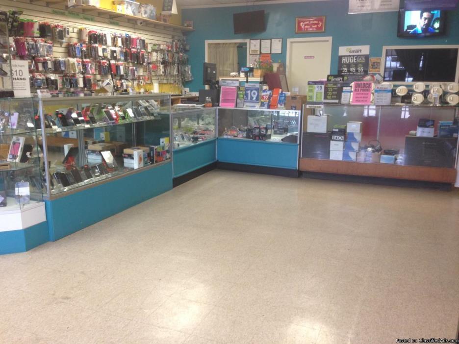 Established Cellphone Shop for sale