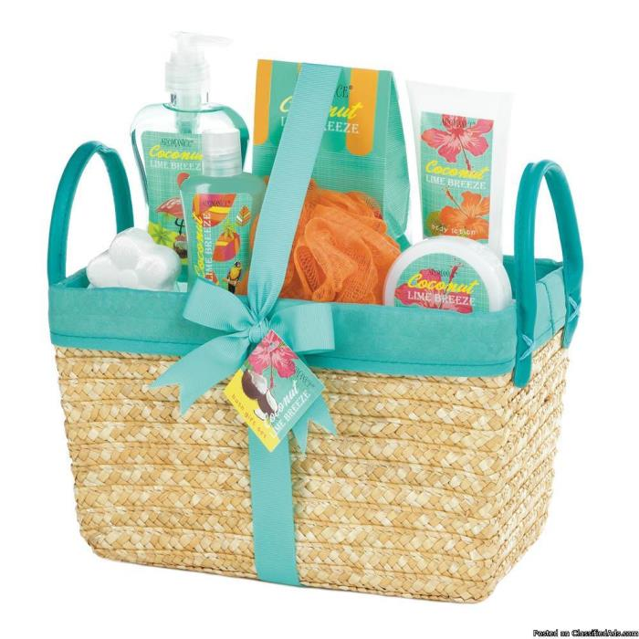 Gift and Spa Baskets For Mother's Day