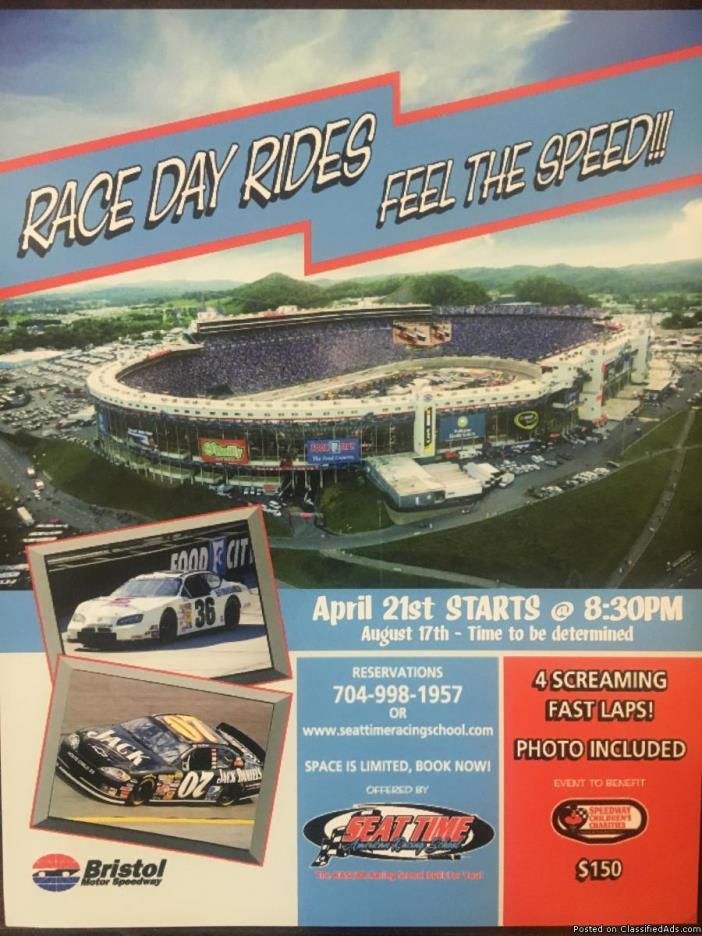 Race Day Rides @ Bristol Motor Speedway