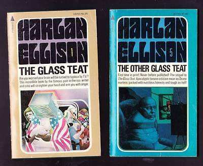 THE GLASS TEAT & THE OTHER GLASS TEAT by Harlan Ellison - Pyramid 1975 & 1976.
