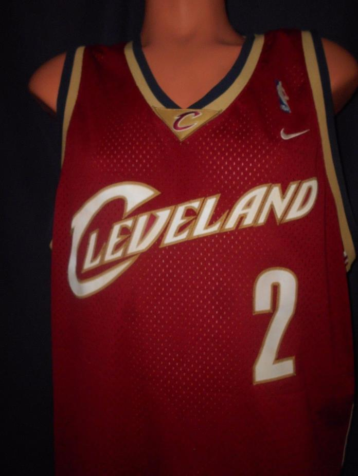 Dajuan Wagner #2 Cleveland Cavaliers Jersey Sz 2XL NBA Basketball Nike Swingman