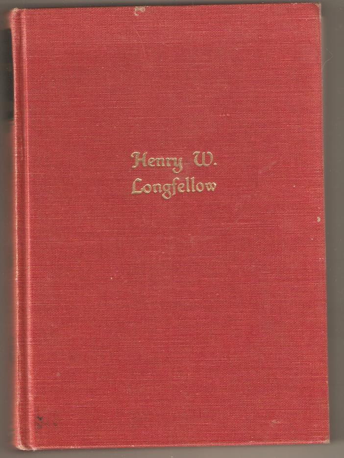 THE POEMS OF HENRY W. LONGFELLOW COPYRIGHT 1932 HARDBACK.BOOK