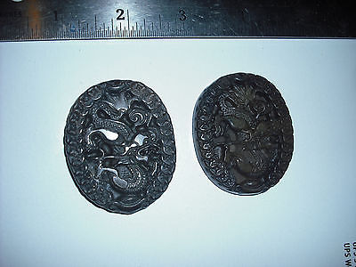 BIG JADE ITE DRAGON ZODIAC PENDANTS 2