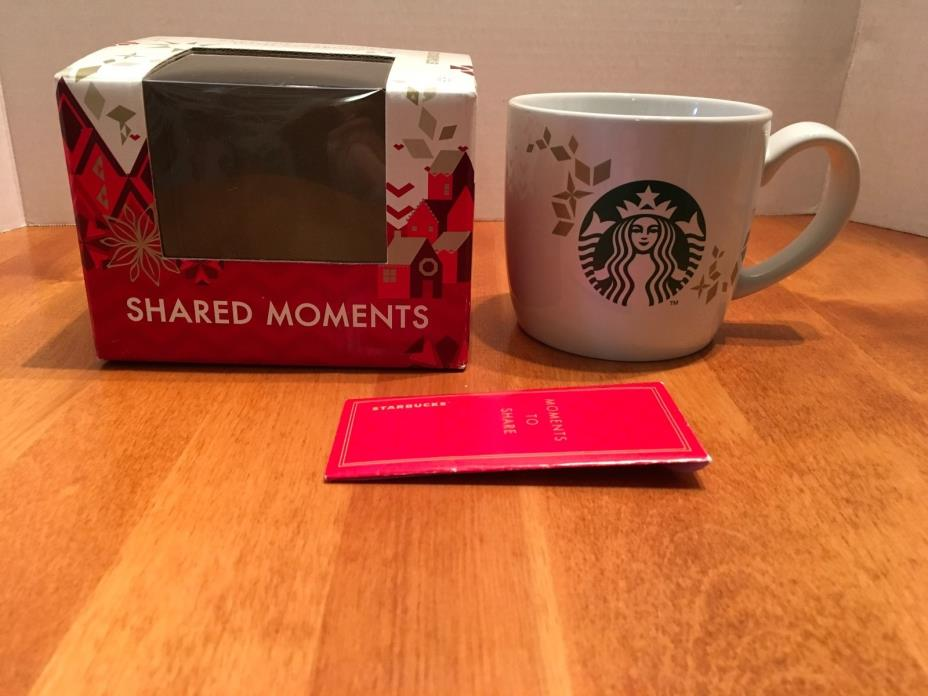 Starbucks Holiday Christmas Shared Moments Mug. 2013. MIB