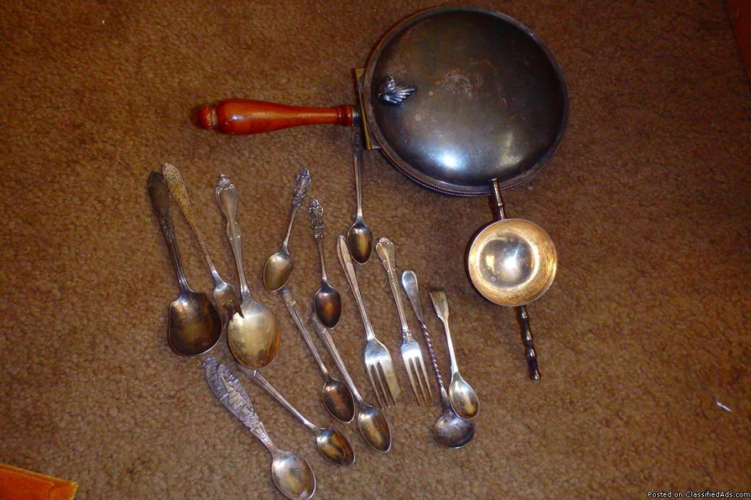 Odd silverish items