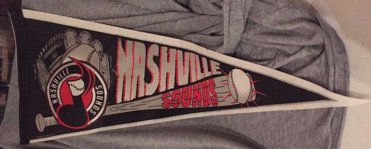 Nashville Sounds Pennant ~ Wincraft