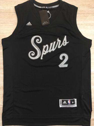 Kawhi Leonard 2016 Christmas San Antonio Spurs Jersey Size Medium