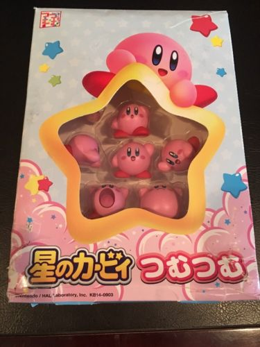 Ensky Pile of Character Tsumu Tsumu Balance Game Kirby's Dream Land Figure Used