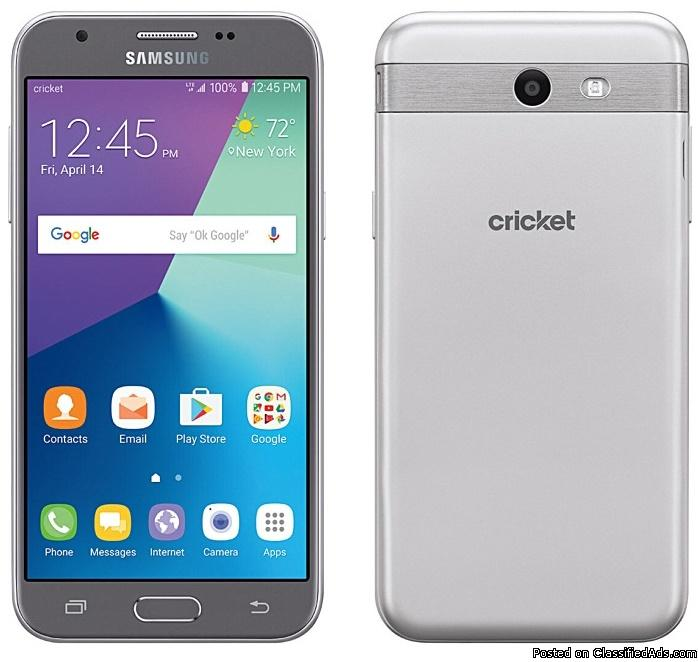 Get the brand new Samsung Galaxy Amp Prime 2 only at Cricket Wireless