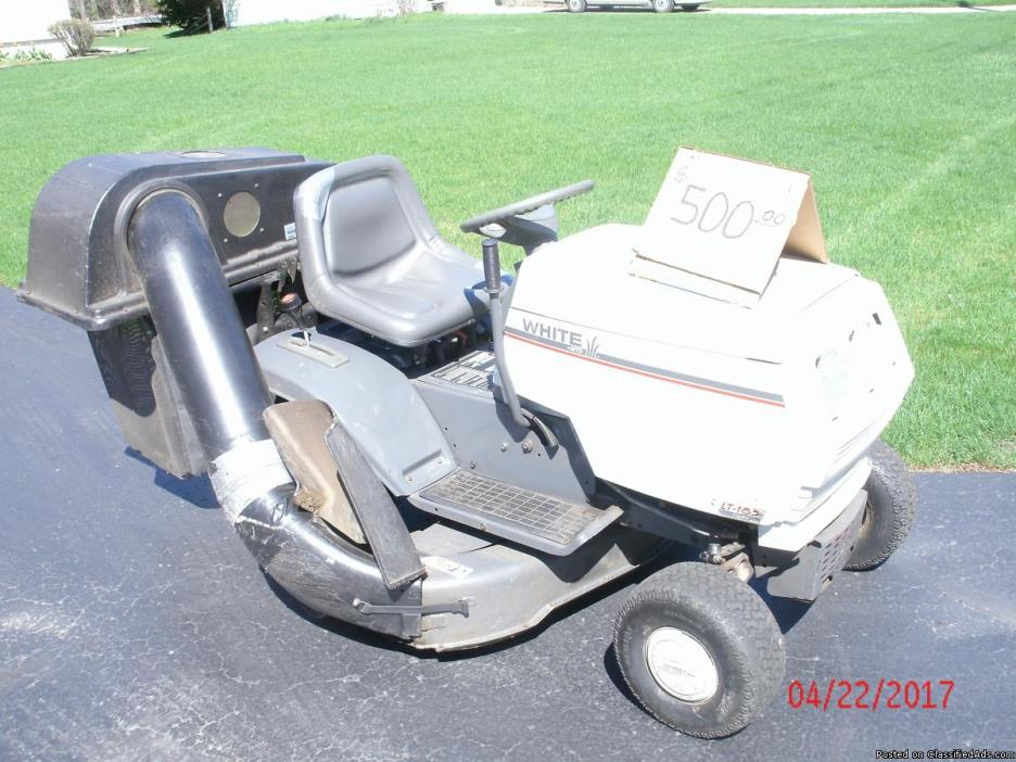White Lawn Tractors For Sale Classifieds