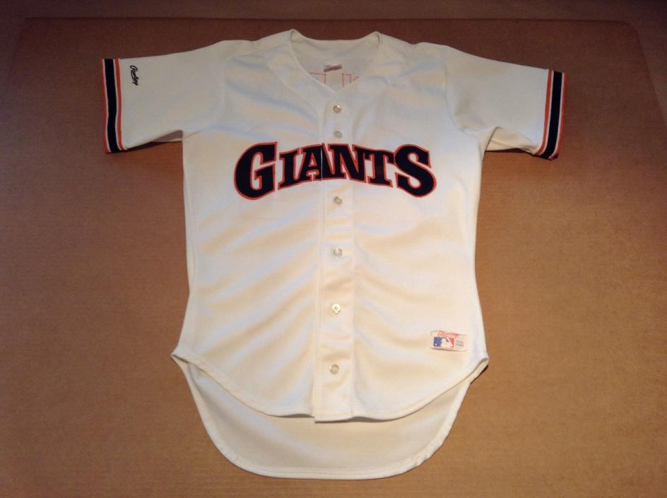 Vintage Rawlings Will Clark Jersey San Francisco Giants