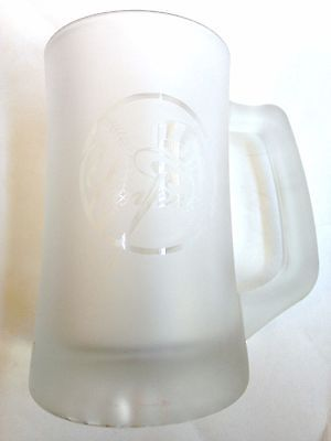 COLLECTIBLE 1998 New York Yankees Frosted Mug! FREE SHIPPING!