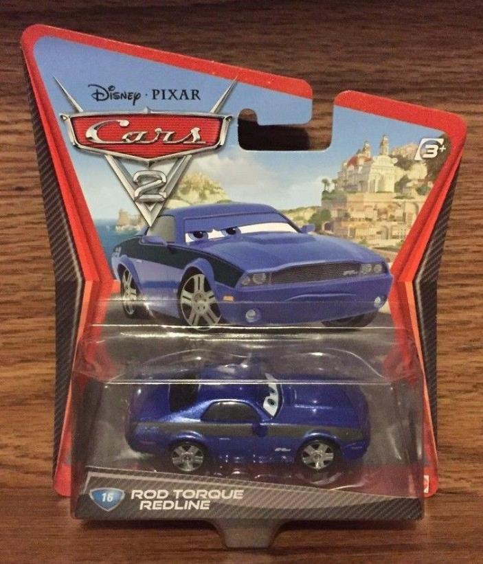NEW Disney Pixar Cars 2 Rod Torque Redline 1:55 Die Cast Car #16