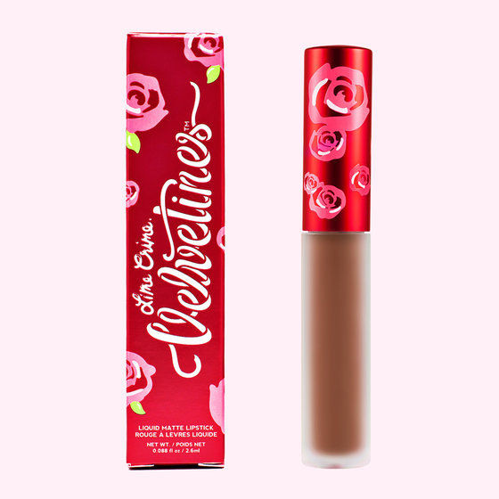 SHROOM Lime Crime Velvetines Liquid Matte Lipstick 90's brown unicorn approved
