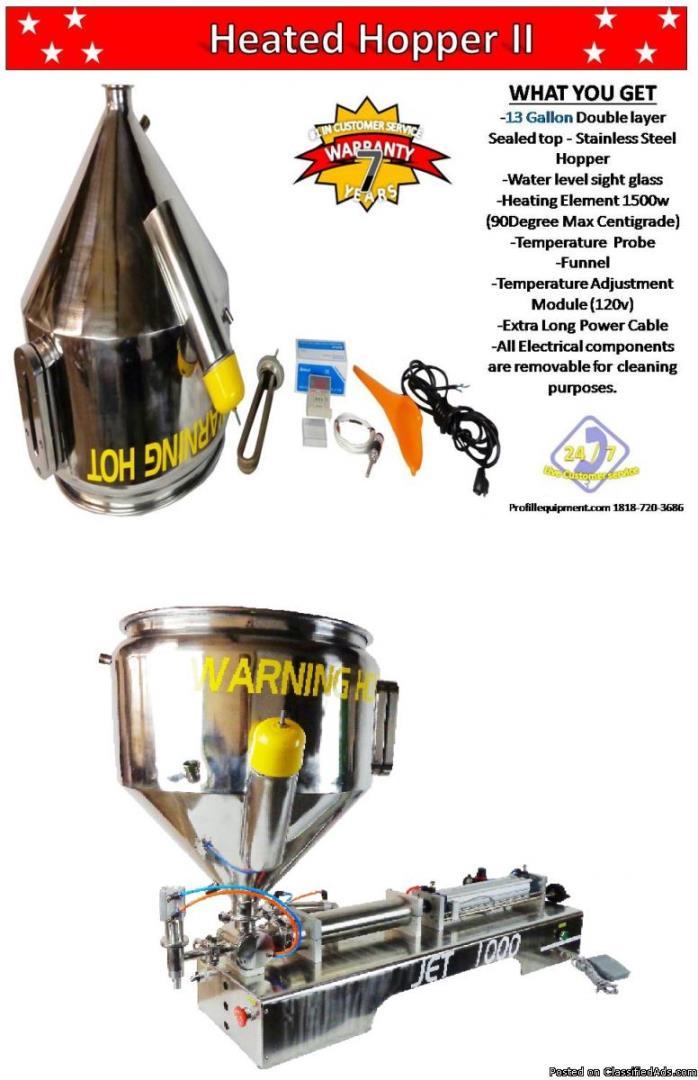 Heating Hopper/Tank II. (13Gallon / 30L)  voltage, 110V or 220V