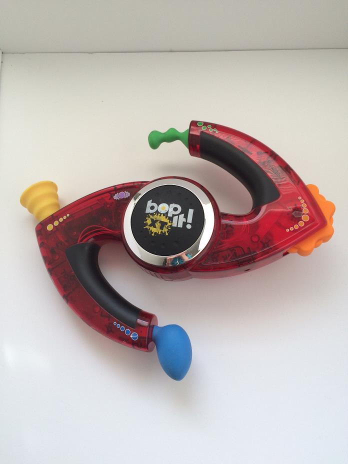 Bop It XT Hasbro Bopit - Special Edition Red Tested Works
