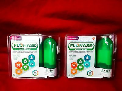 Flonase allergy telief 2x120 metered sprays twin pack