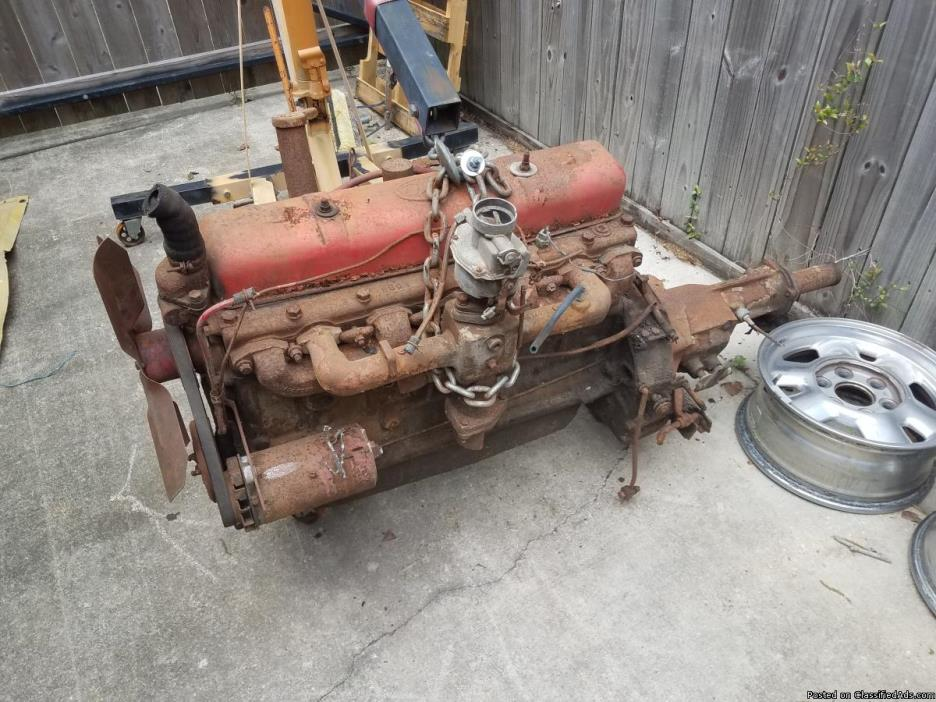 1951 Chevy engine and transmission