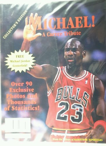 COLLECTOR'S EDITION: 1993 Basketball Superstars-Chicago Bulls Michael Jordan