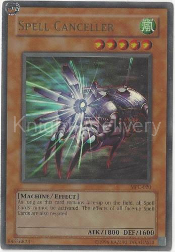 Authentic Alister Deck  - Spell Canceller - Jinzo - Yugioh - NM - 40 Cards