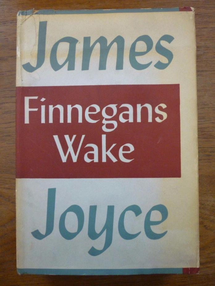 1955 James Joyce FINNEGANS WAKE Viking 6th printing STREAM of CONSCIOUSNESS