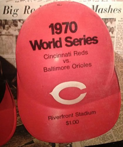 1970 World Series program ~ Cincinnati Reds vs Baltimore Orioles