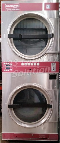 Continental DJ2X3AA Commercial Stack Dryer USED