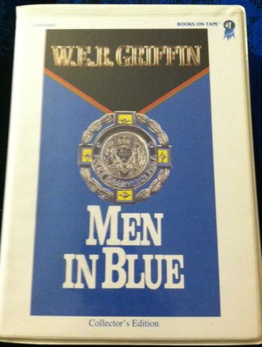 Men In Blue, WEB Griffin (Books On Tape, Collectors Edition) Audiobook Cassette