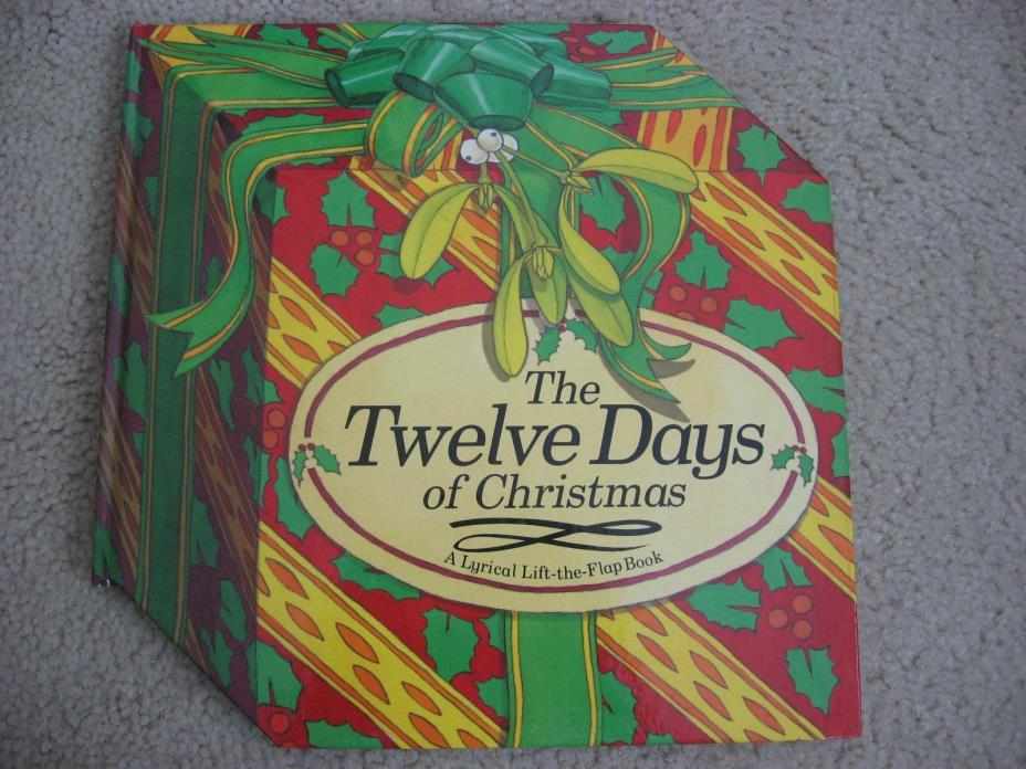 Twelve Days of Christmas Lyrical Lift-the-Flap Jonathan Lambert 1992 HC Book
