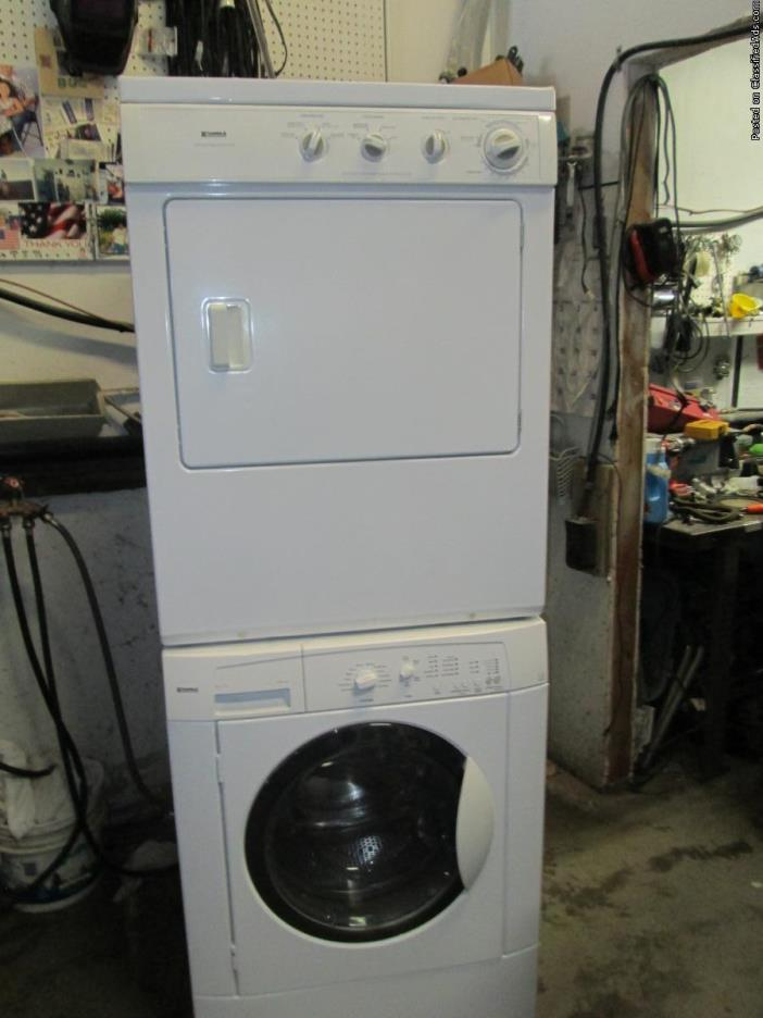 Nice Kenmore Stacked Washer/Dryer Total Cost Installed