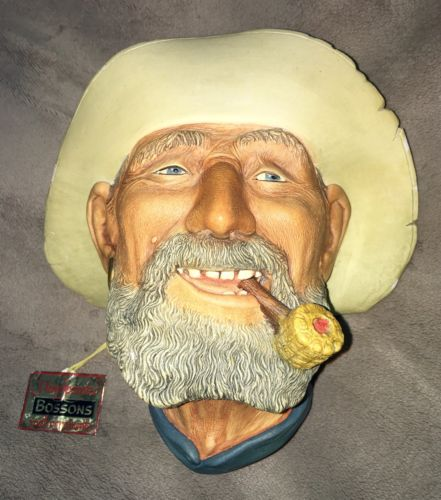 BOSSONS Old Timer NWT Goldminer Prospector 49er Gold Nice Some Wear OOP RARE