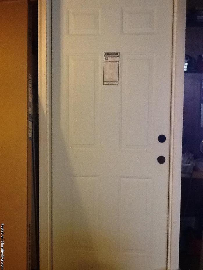 BRAND NEW - Steel Door and Screen Door