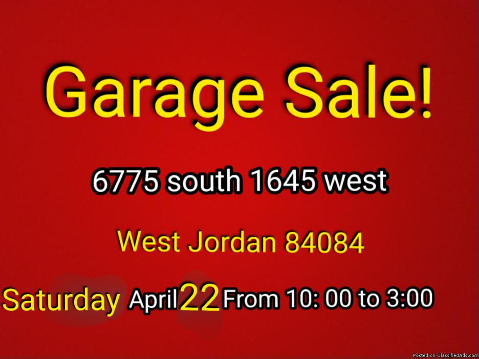 Garage Sale Jewlrey Sale