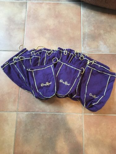 Lot Of 15 Crown Royal Bags