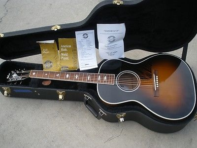2001 Gibson Nick Lucas - Sunburst Finish