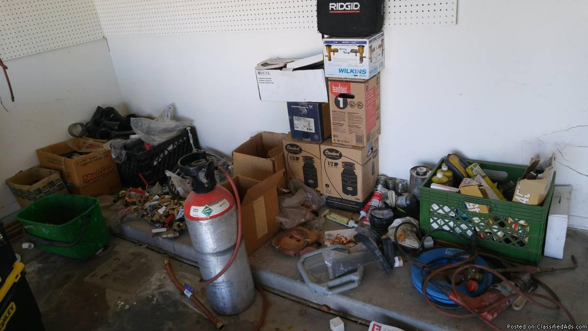 misc plumbing supplies