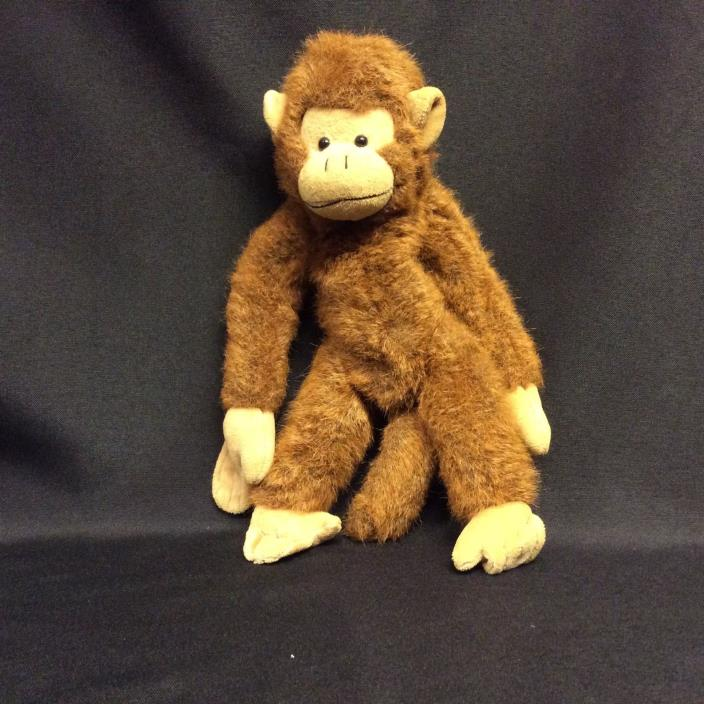 Monkey Plush Toy The Bearington Collection ©1985-98