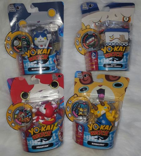 Lot Of Yokai Watch Figurines