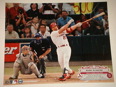 St Louis Cardinals Mark McGwire 500th Home Run 16