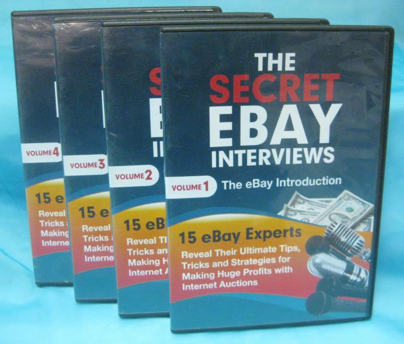 The Secret Ebay Interviews - Volumes 1 thru 4 - EUC
