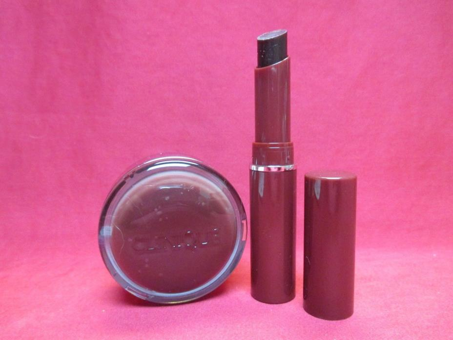 Clinique Almost Lipstick + Sweet Pots Sugar Scrub & Lip Balm~Black Honey~NEW